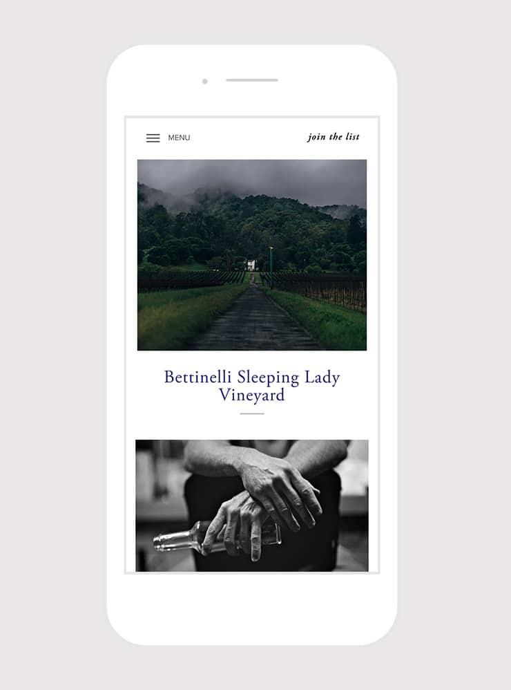 Fait-Main Wines, Crossing parallels Studio